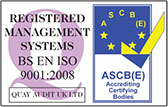 Quality Assured to ISO 9001:2008